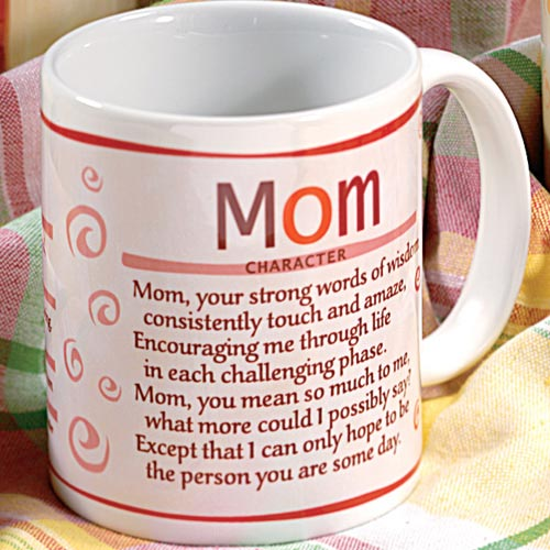 Personalized Role Model Mug for Women