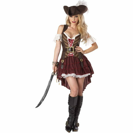 Swashbuckler Adult Halloween Costume](Foxy Brown Halloween Costume)