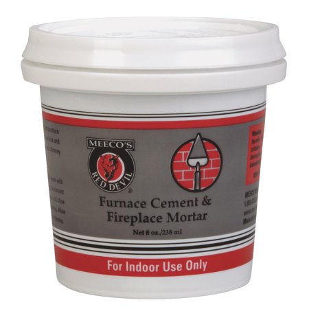 Meeco s Red Devil Furnace Cement Fireplace Mortar