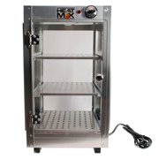Heatmax Commercial Countertop Food Warmer Display Case With Water Tray 14x14x24 by Food Warmers