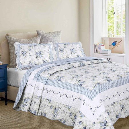 Mayflower Dawn Oversized Quilt Set by Bay Colony by Patch Magic