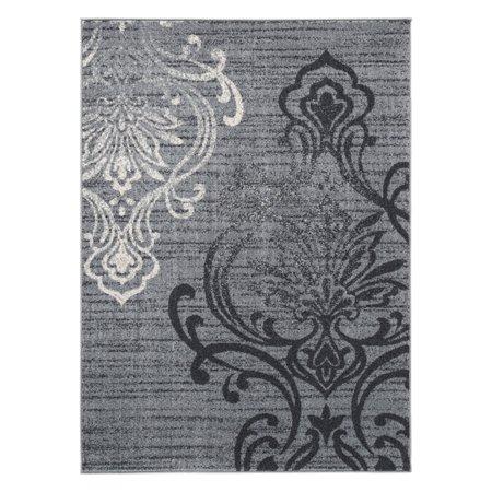 Signature Rectangular Rug (Signature Design by Ashley Verrill Gray/Black 8' x 10' Rug)