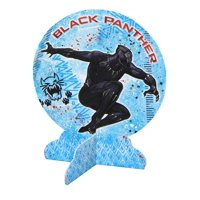 """Marvel Black Panther 9 3/5"""" Paper Party Table Centerpiece"""