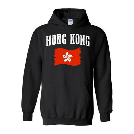 Hong Kong Flag Unisex Hoodie Hooded Sweatshirt (Krang Hoodie)
