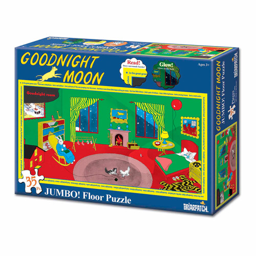 Goodnight Moon Glow Jumbo Floor Puzzle, 35 Pieces by Briarpatch