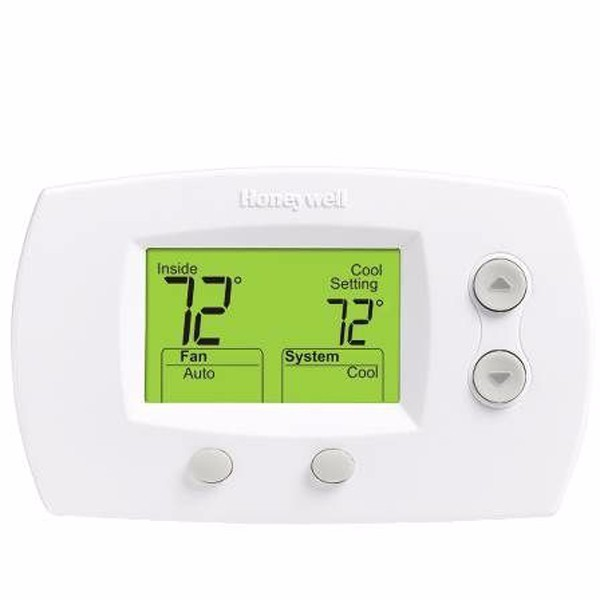 Honeywell TH5220D1029 Focuspro 5000 Non-Programmable 2 Heat and 2 Cooling Thermostat,... by Honeywell