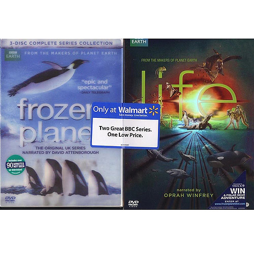 Frozen Planet / Life (2-Pack) (Walmart Exclusive) (Anamorphic Widescreen, WALMART EXCLUSIVE)