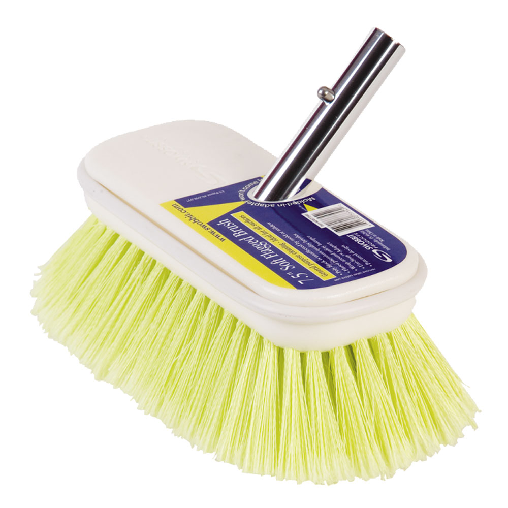 "SWOBBIT 7.5"" SOFT YELLOW BRUSH"