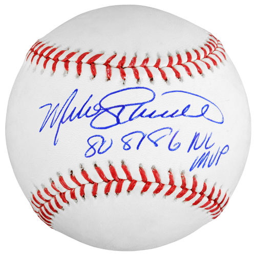 MLB - Mike Schmidt Philadelphia Phillies Autographed Baseball with 80',81',86' NL MVP Inscription