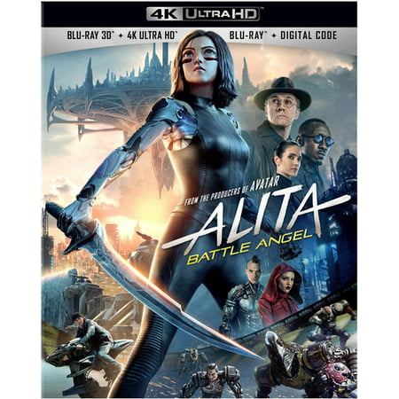 Alita Battle Angel Standard Definition Widescreen (4K Ultra