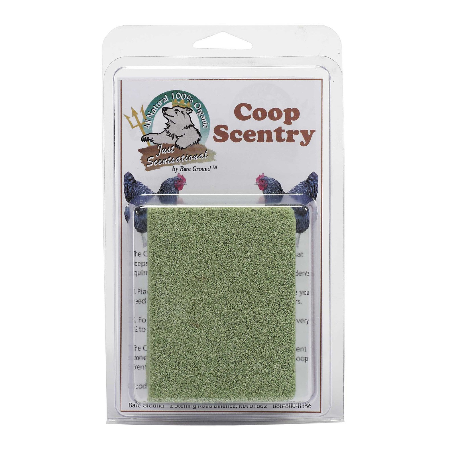 Just Scentsational Coop Scentry by Bare Ground (0063227231986) size 1 ounce