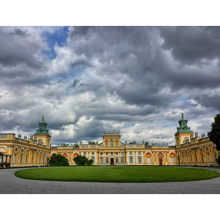 LAMINATED POSTER The Palace The Palace And Park Warsaw Wilanw Poster Print 24 x 36 ()