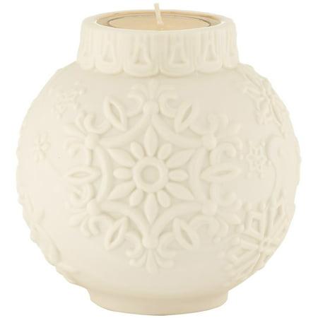 Ornamental Scroll (Lenox Ornamental Glow Snowflake Scroll Votive )