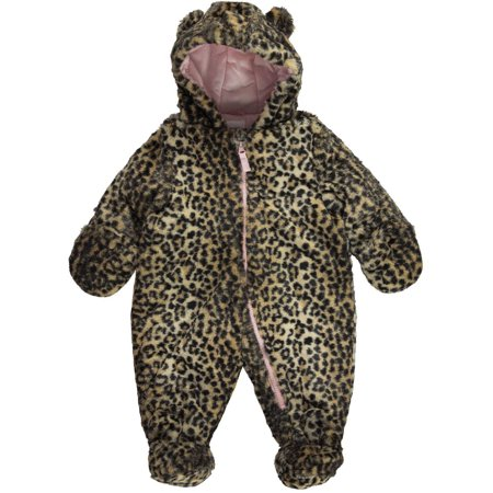 Carter S Carter S Baby Girls Quot Winter Leopard Quot Pram Suit