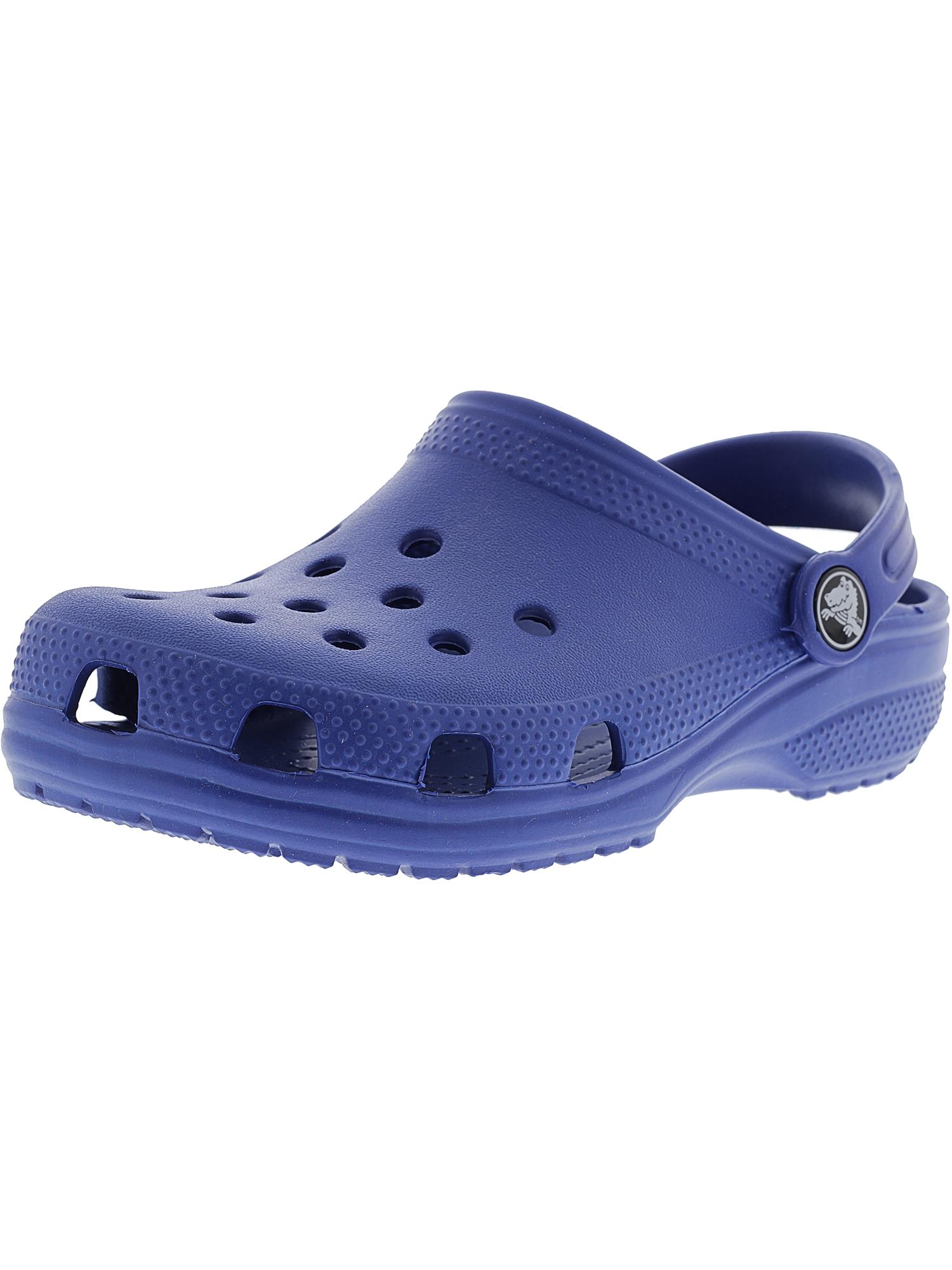 Crocs Kids Classic Clog Ltd Blue Jean Clogs - 6M