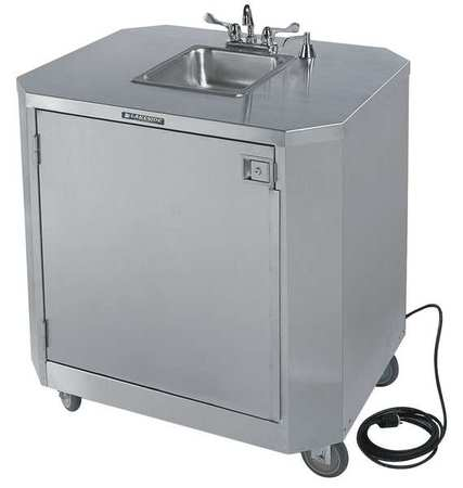 Lakeside 9610 Hand Washing Cart,Stainless,39x33x45 G9901613