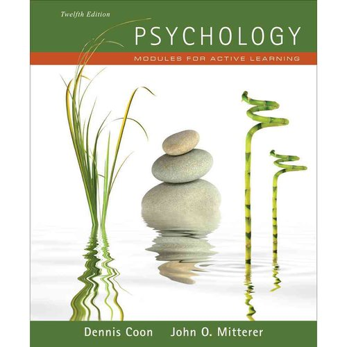 Psychology Modules For Active Learning by Dennis Coon
