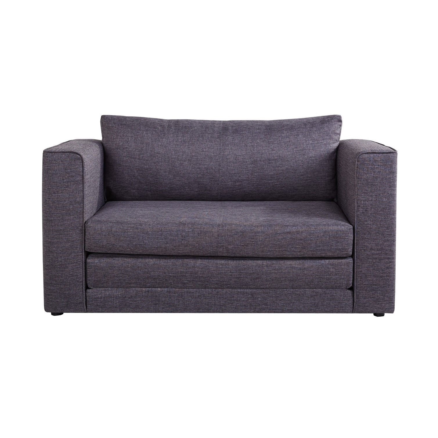 Product Image US Pride Furniture Ava Modern Reversible Fabric Loveseat And  Sofa Bed