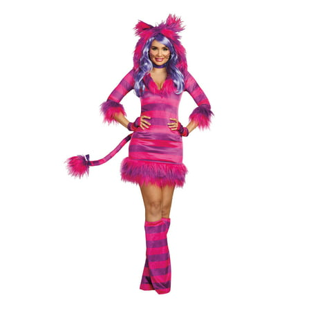 Dreamgirl Women's Colorful Magic Cat Storybook Costume Dress - Paper Magic Group Costumes