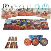 """Disney Cars 3 S 6.5"""" Party Goody Gift Bag Party Favor Stationery (54pc)"""