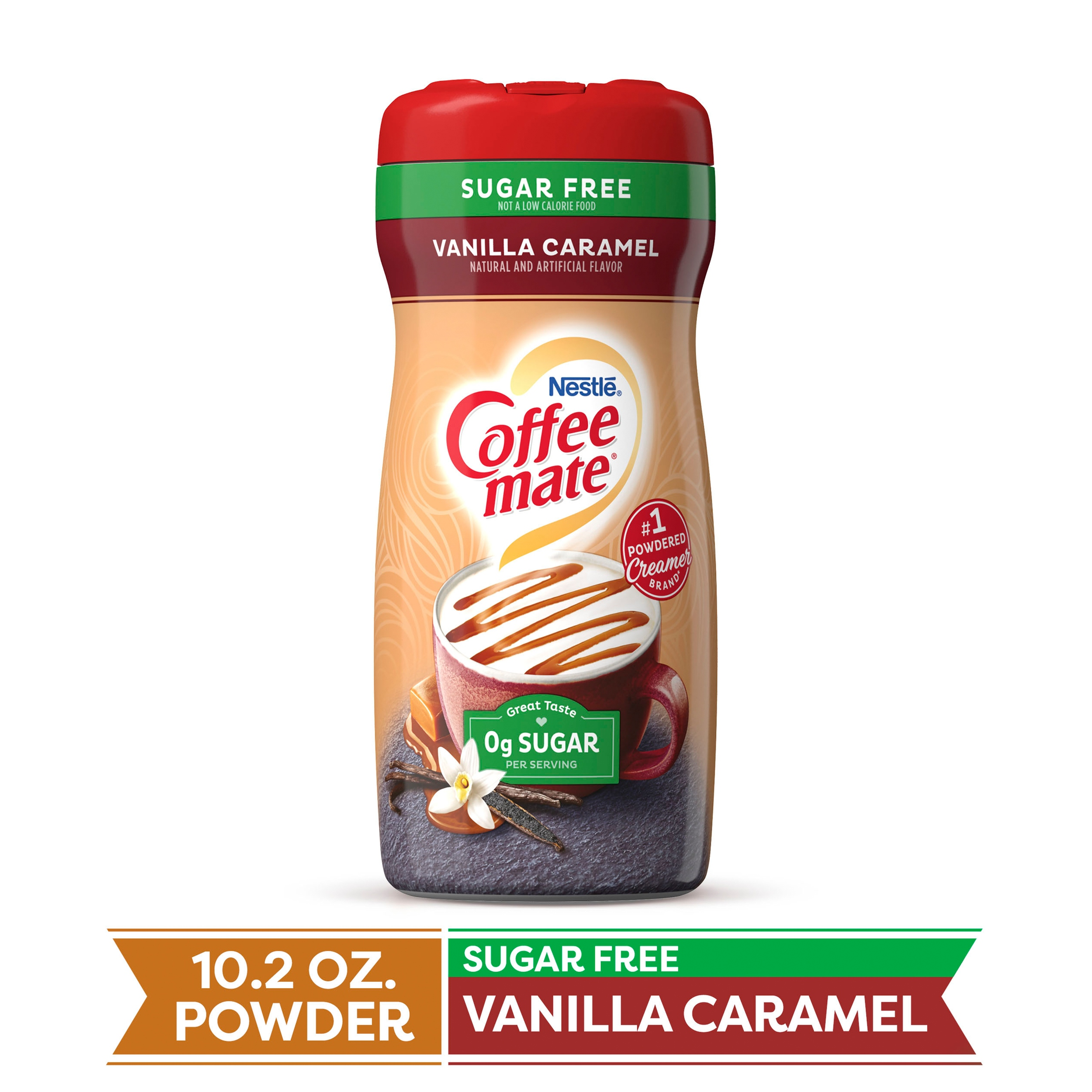 COFFEE MATE Sugar Free Vanilla Caramel Powder Coffee ...