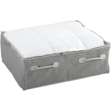 Better Homes & Gardens® Charleston Collection Underbed Storage Bags with Gray Handles ()