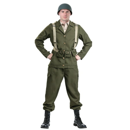 Deluxe WW2 Soldier Costume](Foot Soldier Costume)