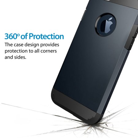 LivEditor [Scratch Resistant]Apple iPhone 6 Plus Case 5.5 inch Resistant Hybrid Armor Case - image 3 of 7