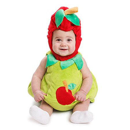 Dress Up America Sugar Sweet Baby Apple Costume](Costume Apple)