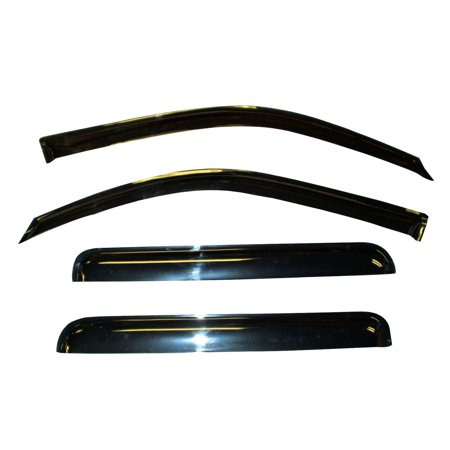 1951 Ford Sedan - Vent Window Visor Shade Shades Visors Rain Guards for Ford Focus Sedan 08-11