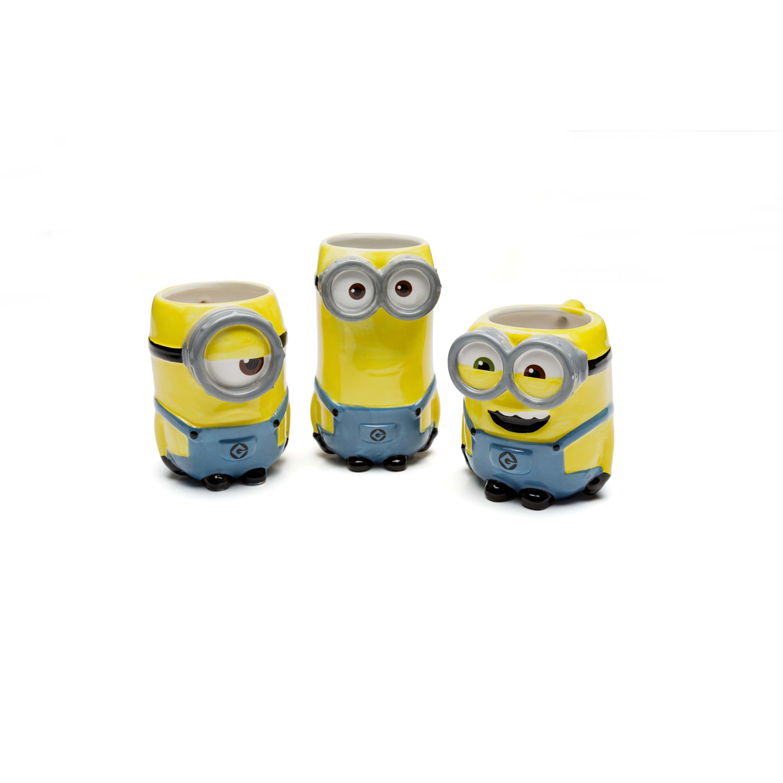 Multicolor Zak Designs DESZ-8511 Minions Movie Bob Ceramic sculpted Mug