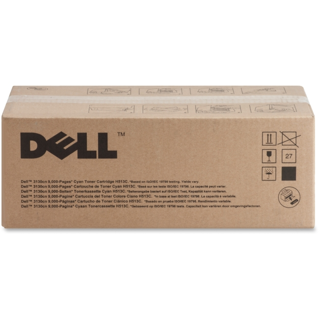 Dell High Yield Cyan Toner Cartridge (OEM# 330-1199) (9 000 Yield) by Dell