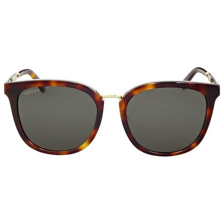 3aa88c25764 Gucci - Sunglasses Gucci GG 0140 SA- 001 BLACK   GREY - Walmart.com