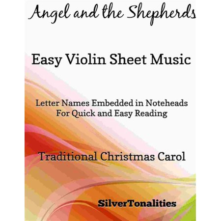 Angel and the Shepherds Easy Violin Sheet Music - (Violin Music Sheet For A Thousand Years)