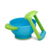 NUK Mash & Serve Bowl with Masher to Prep and Serve Baby Food