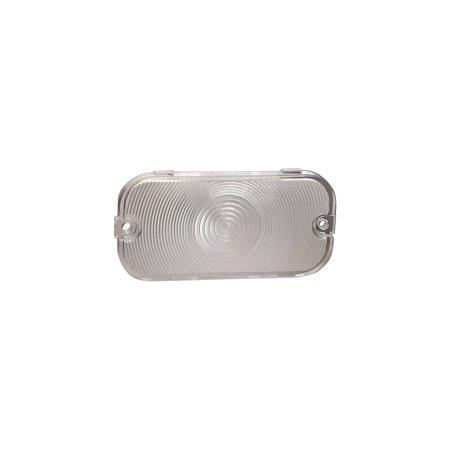 MACs Auto Parts Premier  Products 41-35002 Parking Light Lens - Plastic - Clear - Comet