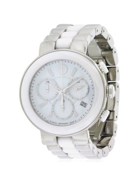 1963f5fc2d0e Free shipping. Product Image Cerena White Ceramic Chronograph Ladies Watch  0606758