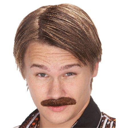 Mustache 70S Dude Brown](70s Makeup)