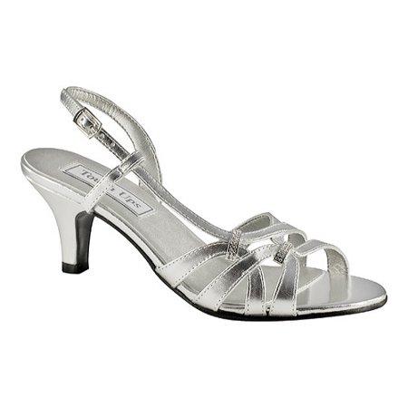 - touch ups women's donetta manmade slingback sandal,silver ,5.5 m us
