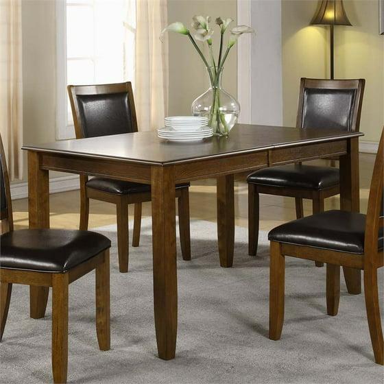 Monarch Dark Walnut Ash Veneer 36X 54X 72 Dining Table I