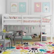 Dorel Living Benson Twin Loft Bed, White