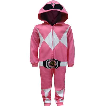 Mighty Morphin Power Rangers Pink Ranger Union Suit - Power Ranger Underwear