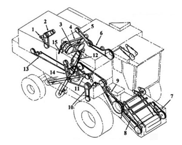 1541702c1 New Separator Drive Belt Made For Case Ih Combine Models