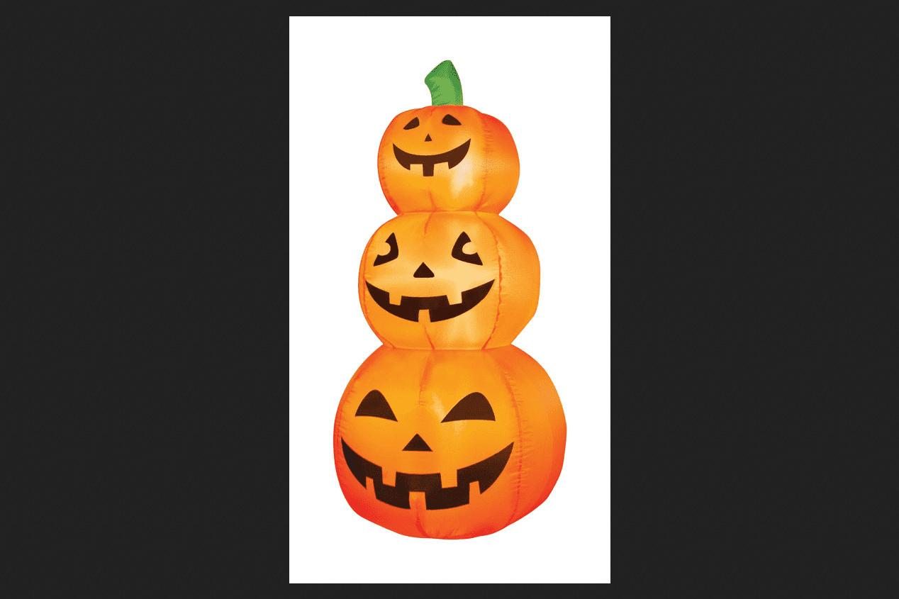 by Bluestem Large 3D Lighted Grapevine Pumpkin