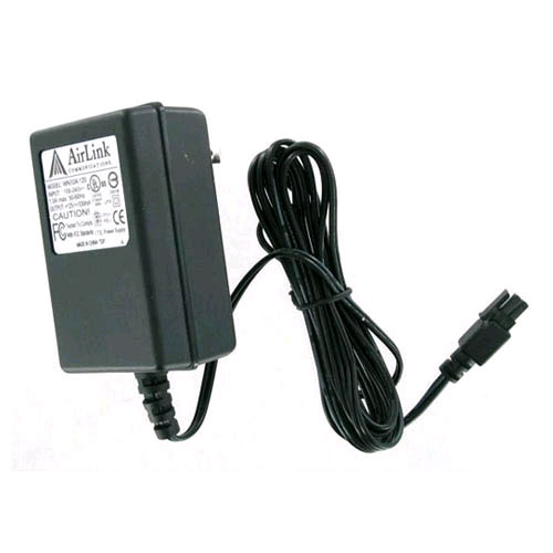 Image of AirLink Power Supply Adapter for Raven, Redwing - Black