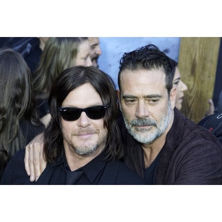 Norman Reedus Jeffrey Dean Morgan At Arrivals For AmcS The Walking Dead 100Th Episode Party The Greek Theatre Los Angeles Ca October 22 2017 Photo By Priscilla GrantEverett Collection Celebrity - Party Ca