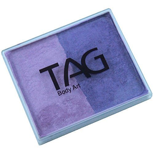 TAG 2 Color Split Cake - Pearl Purple and Pearl Lilac (50 gm)