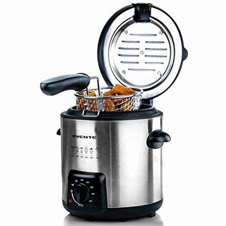 Ovente Fdm1091br Mini Deep Fryer With Removable Basket 0