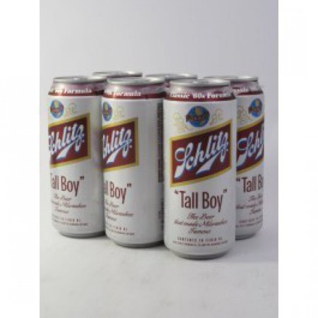 Schlitz Beer, 6 pack, 16 fl oz