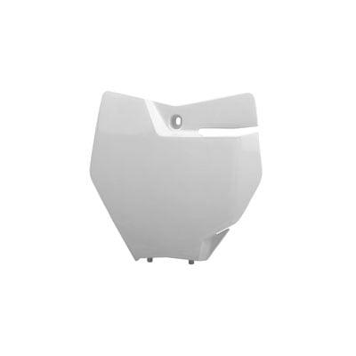 Ktm Number Plates - Polisport Front Number Plate 16 White For TM, KTM